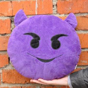 "Подушка Emoji ""Devil Horns Emoji"" 27 см вид 2"