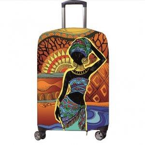 Чехол для чемодана Fancy Armor - Africa