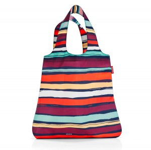 Сумка складная Mini maxi shopper artist stripes