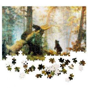 Пазл Пикселюс «Утро в сосновом лесу»