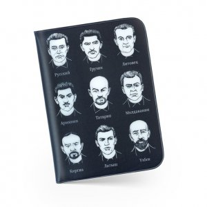 Обложка для паспорта «Документикус» черная