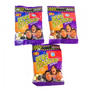 Конфеты Bean Boozled с разными вкусами (мягкая упаковка) (3 пачки) 4 версия