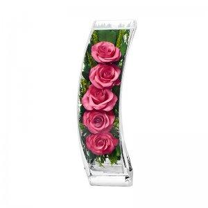 Композиция из розовых роз (SqCRp)