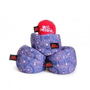 Игра Анти Петанк (набор из 3-х мячей) фиолетовый