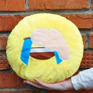 "Подушка Emoji ""Facepalm"" 27 см"