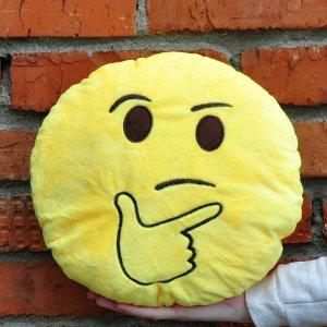 "Подушка Emoji ""Thinking"" 27 см"