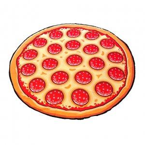 Покрывало пляжное Pizza вид 2