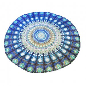 Покрывало пляжное Blue Mandala