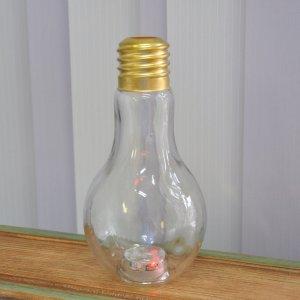 Стакан для коктейлей Лампочка 400 мл светящийся