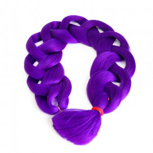 Канекалон 170 гр 95 см темно-фиолетовый II Purple