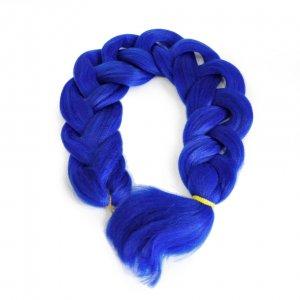 Канекалон 170 гр 95 см синий Blue