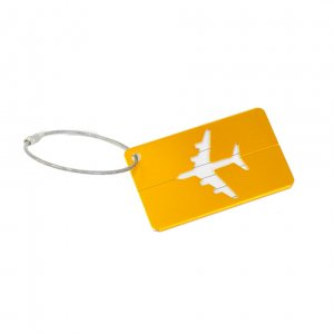 Бирка для багажа Metal Plane