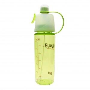 """Бутылка с распылителем """"New Button"""" зеленая"""