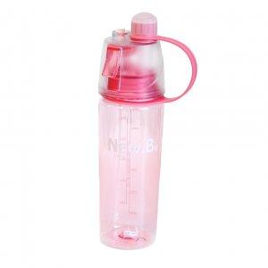 """Бутылка с распылителем """"New Button"""" розовая"""