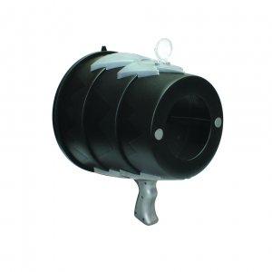 Воздушная базука AirZooka черно-серебряный (реплика)
