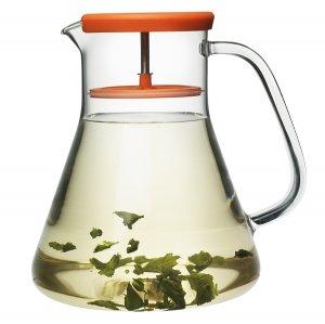 Чайник стеклянный Dancing Leaf