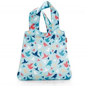 Сумка Mini maxi shopper origami blue