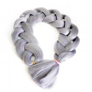 Канекалон 170 гр 95 см светло-серый II Grey