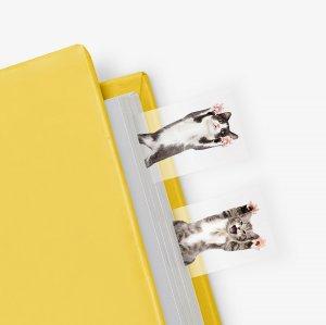 Маркеры для страниц Cat in a Book (100 шт)