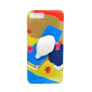 Чехол антистресс для iPhone 6 Plus Seal on the beach
