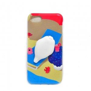 Чехол антистресс для iPhone 7 Seal on the beach