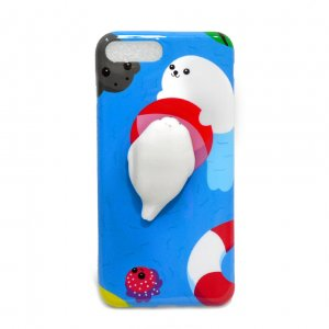 Чехол антистресс для iPhone 7 Plus Seal in the sea