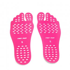 Nakefit (Наклейки на ступни ног) розовые