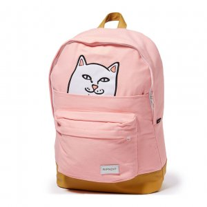 Рюкзак Lord Nermal - RIPNDIP розовый