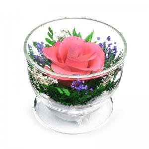Композиция из розовой розы (CuSRp)