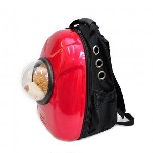 Рюкзак-капсула с иллюминатором, красный