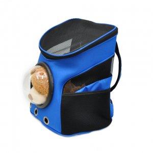 Рюкзак с иллюминатором, черно-синий