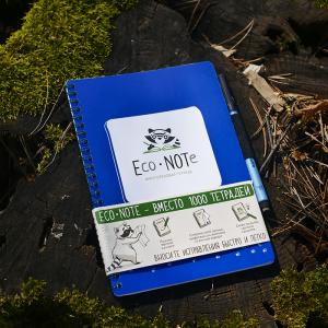 Многоразовая тетрадь EcoNote (синяя)