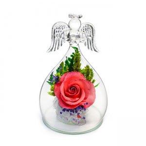 """Композиция """"Ангел"""" из натуральных роз (OaSRp)"""