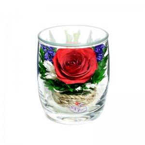 Композиция из натуральной розы (SMR)