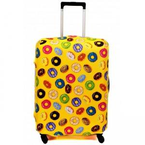 Чехол для чемодана Fancy Armor - Пончик в желтом