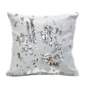 Наволочка с пайетками White-Silver treasure для подушки