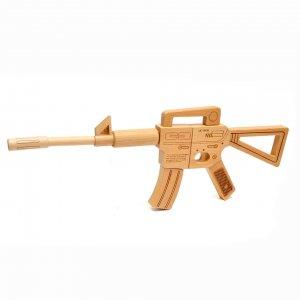 Игрушечное ружье-конструктор деревянный