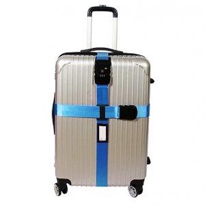 Ремень на чемодан с TSA замком