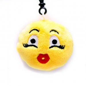 "Брелок-смайлик Emoji ""Cute girl Emoji"""