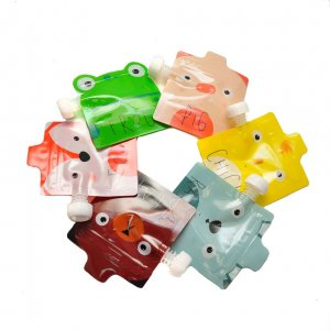 Набор пакетиков для детского пюре ZooAnimals (6 шт)  №2
