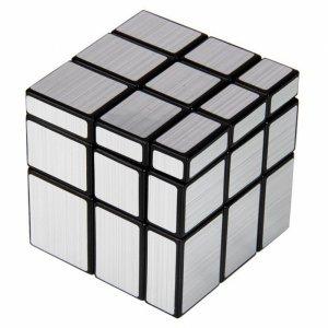 Зеркальный Кубик Рубика Серебряный 3х3