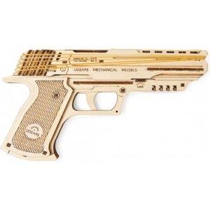 3D-пазл UGEARS Пистолет Вольф-01