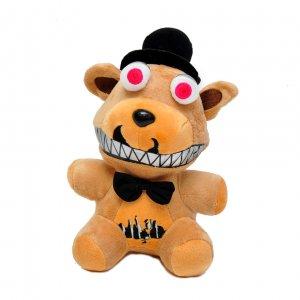 """Мягкая игрушка """"Пять ночей с Фредди""""  Медведь Фредди Зомби 25 см"""