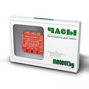МегаЧасы электронный конструктор для пайки