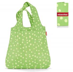 Сумка складная Mini maxi shopper spots green