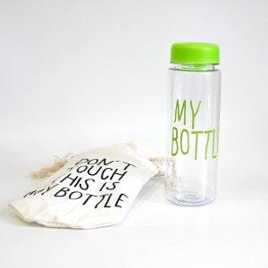 "Бутылка для напитков ""My Bottle"" зеленая (уцененный товар)"