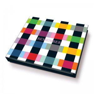 Блок для записей с ручкой Colour Caro