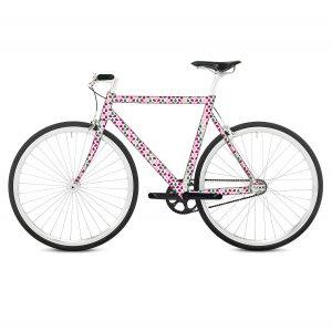 Наклейка на раму велосипеда Blossom