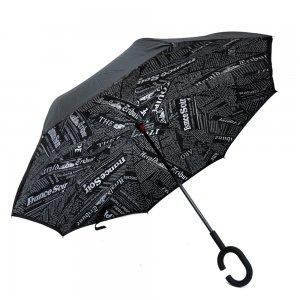Зонт наоборот Letters