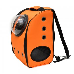 Рюкзак с иллюминатором, оранжевый вид 2